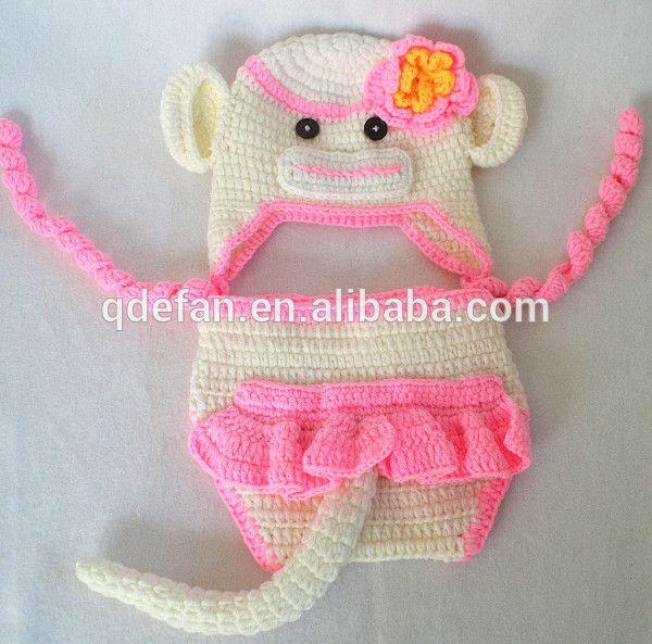 gorro recien nacido crochet - Buscar con Google