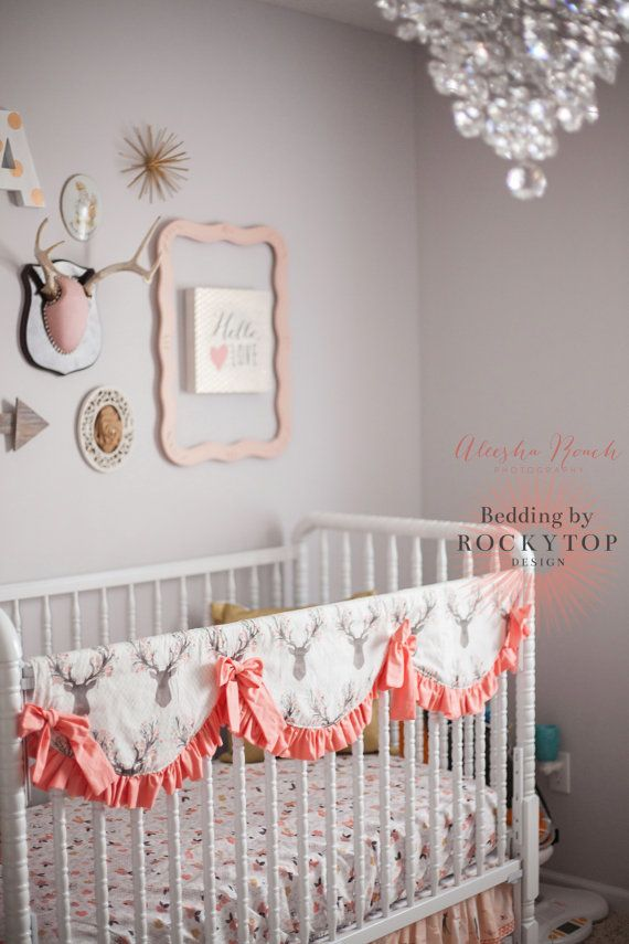 Scalloped Teething Guards Rail Cover Protector By Rockytopdesign Crib Rail Cover Cribs Crib Rail