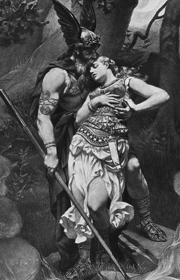 Siegfried and Brunhilde | Love in 2019 | Viking art, Viking