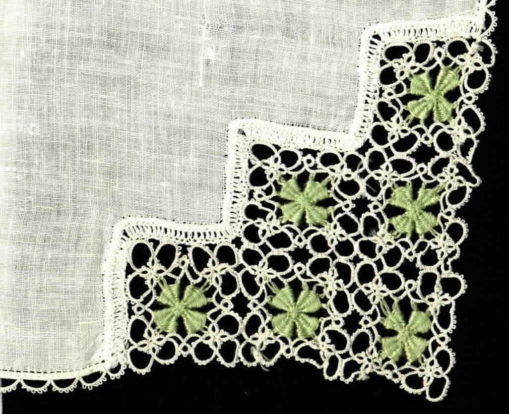 Tatting with Needle-Weaving Centers