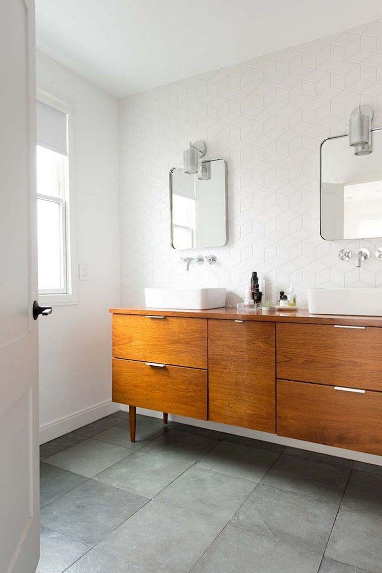 30 Minimalist Medieval Century Bathroom Design Ideas Mid Century Modern Bathroom Top Bathroom Design Modern Bathroom
