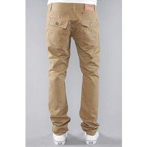 Orisue The Honovi Slim Fit Pants In Khaki,Pants For Men, 36,Khaki ...