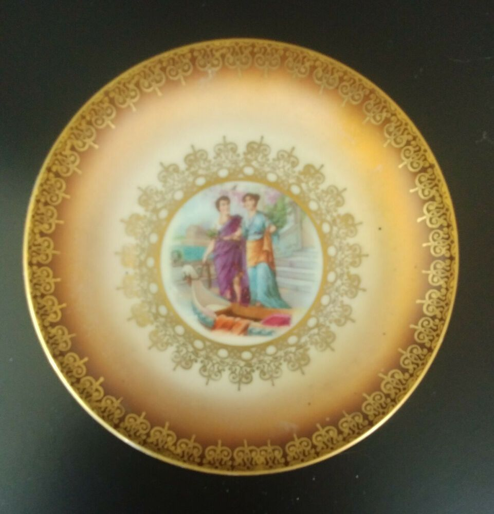 """MITTERTEICH Bavaria Small Saucer Only 4"""" Diam Replacement"""