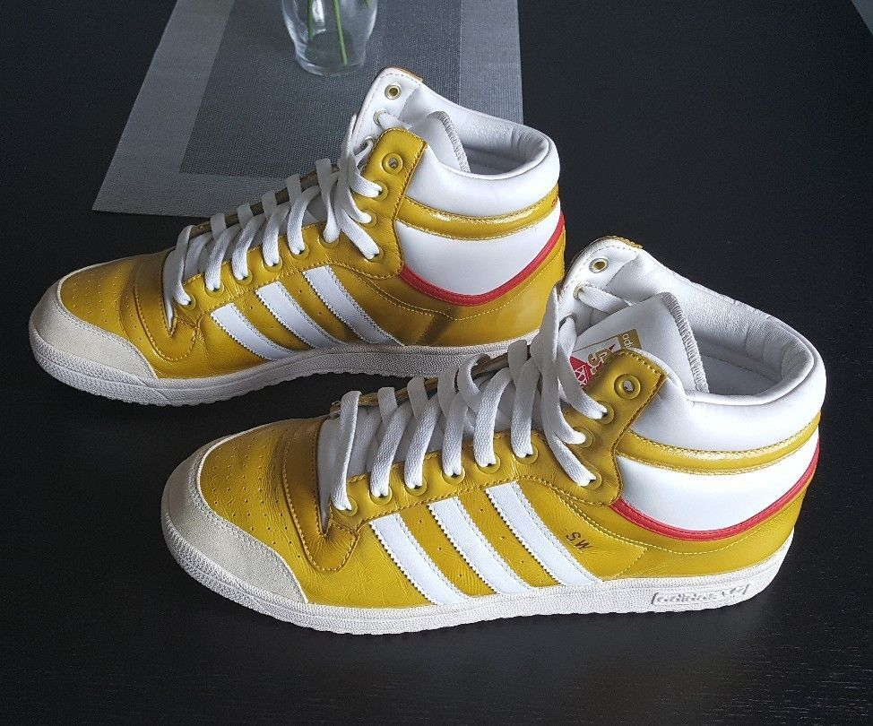 Adidas Originals S.W. sneakers.Mustard Yellow.Mens 11.5 fty
