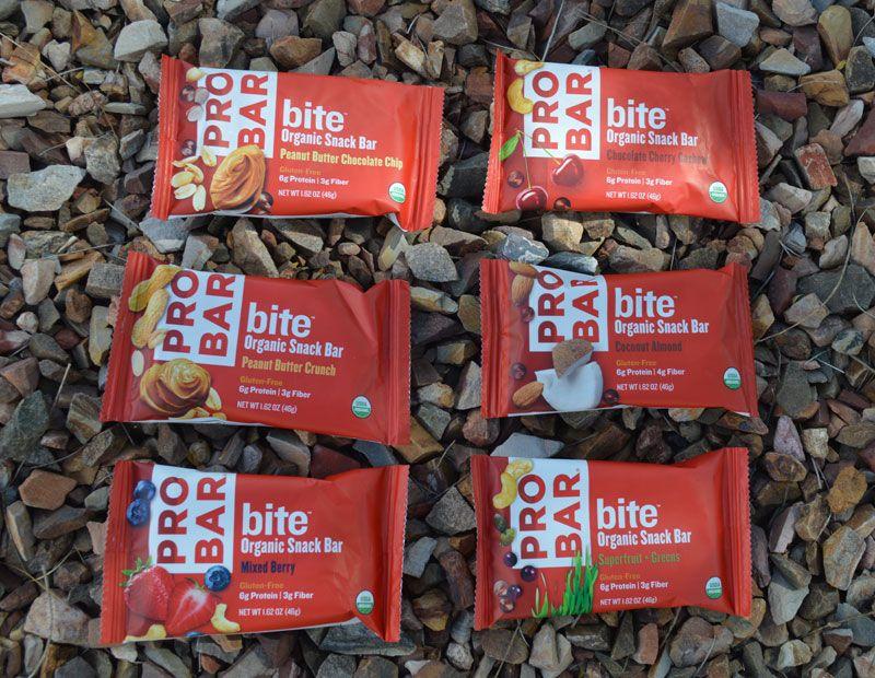 Food Review PROBAR bite Organic Gluten Free snack bars