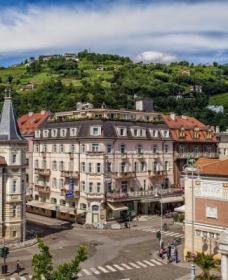 Hotel Europa Splendid   Merano   ville de thermes   Tyrol du Sud   Italie