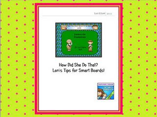 Step By Step Guides for Smart Board customized lessons