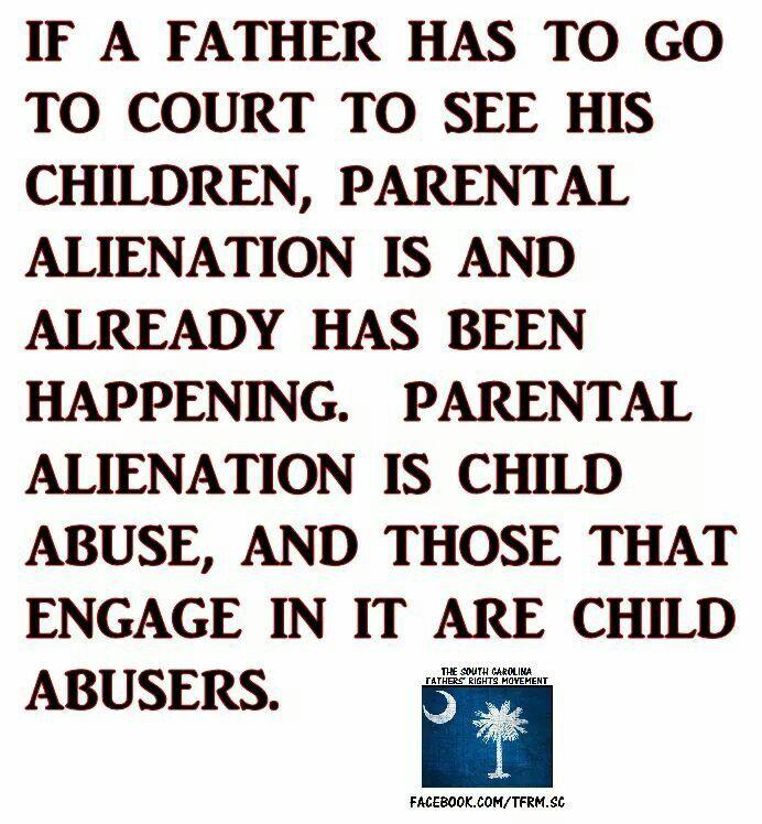 parents who alienate their children