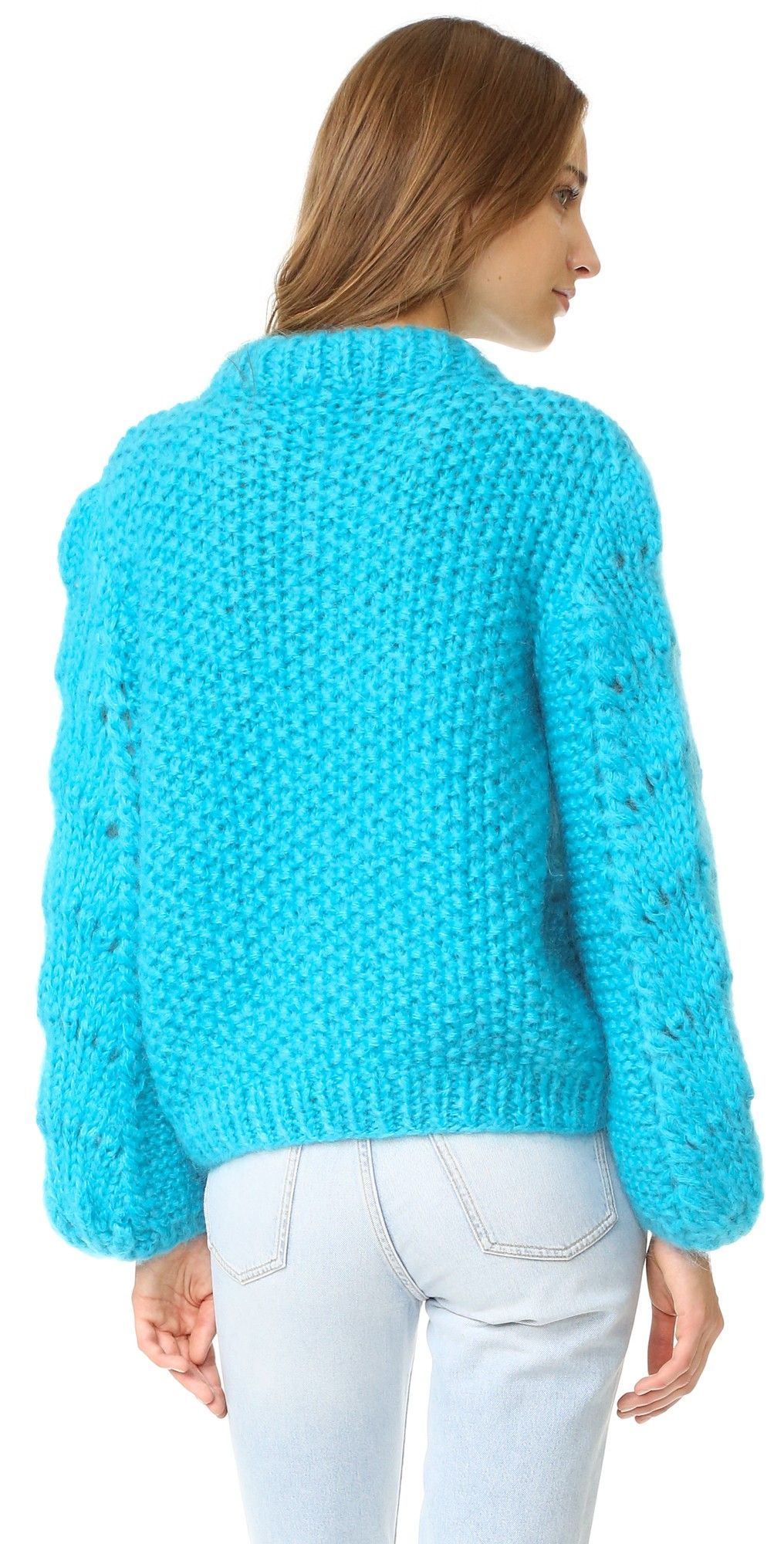 Ganni The Julliard Mohair Sweater | 15% off 1st app order use code: 15FORYOU