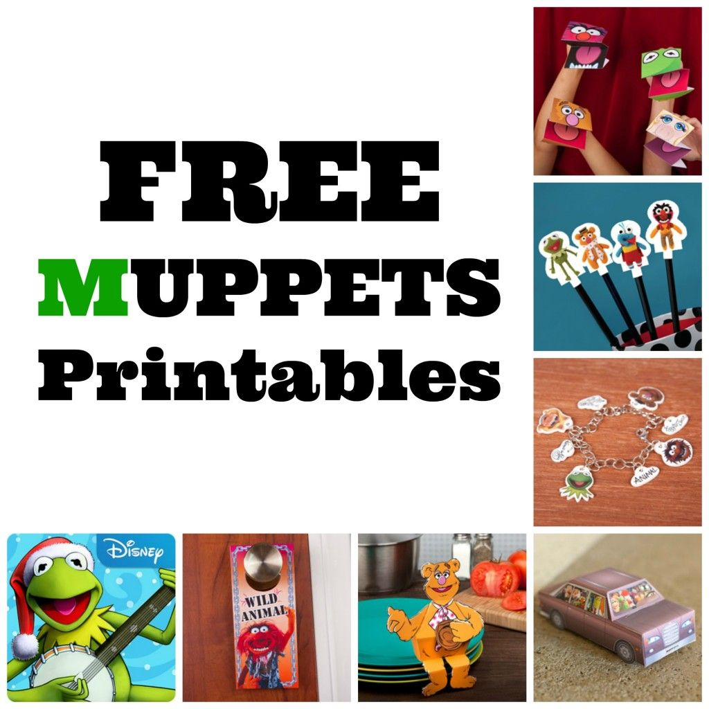 Muppets Animal Free Printable: FREE Muppets Printables