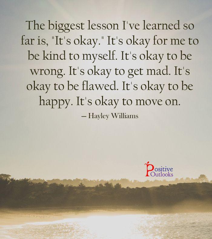 My Biggest Lesson So Far In Life | Positive Outlooks Blog
