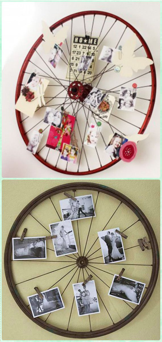 Diy Ways To Recycle Bike Rims Ideas And Instructions - Recycling Deko