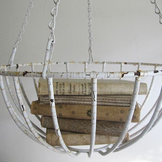 Hanging Metal Basket, The Curious Sofa