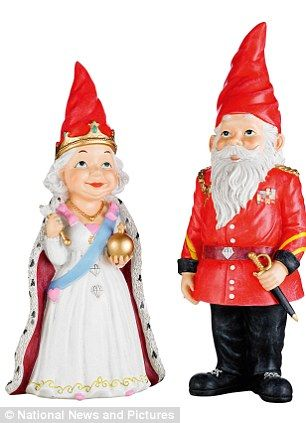 """""""In honor of the Queen's Diamond Jubilee"""" or """"the annoying Travelocity gnome has a bit of royal competition"""""""