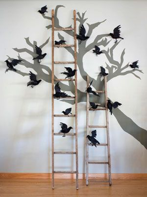 Halloween Decorations that Last All Season Long Creepy, Crows and - indoor halloween decoration ideas