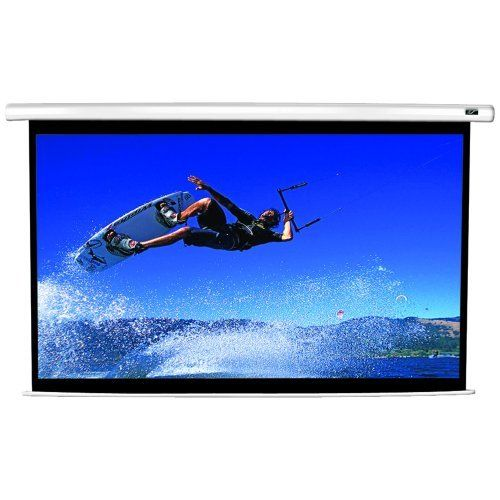 Elite Screens Vmax100xwh2 Vmax 2 Series Electric Screens 100 49 X 89 2 16 9 Hdtv Format Vmax100xwh2 Electric Screen Projector Screen Projection Screen