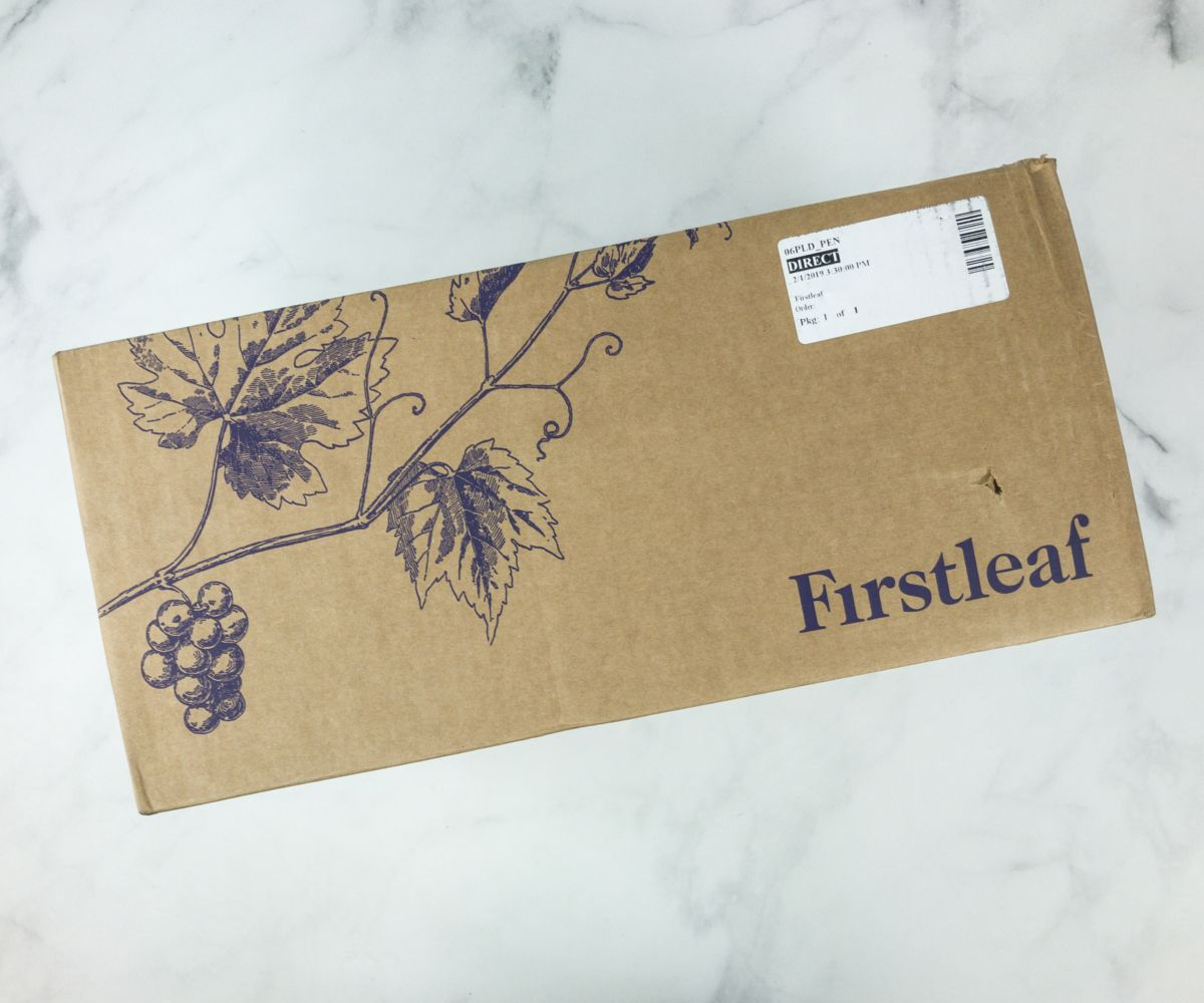 Firstleaf Wine Club February 2019 Subscription Box Review