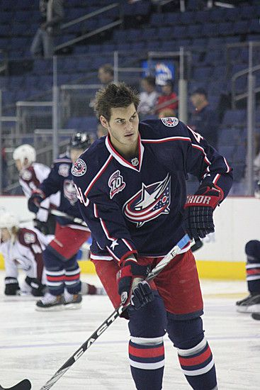 Jared Boll, Blue Jacket Extra/BlueZone (kbmay1)