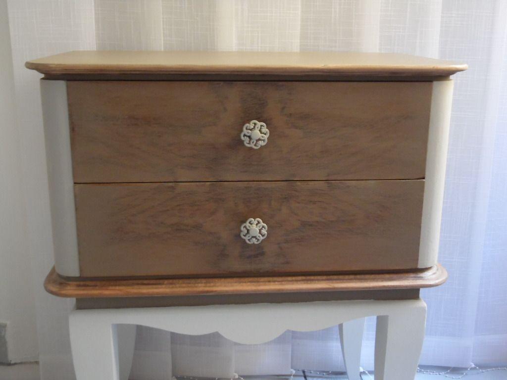 table de chevettable de nuit art dco 1930 totalement relook meubles