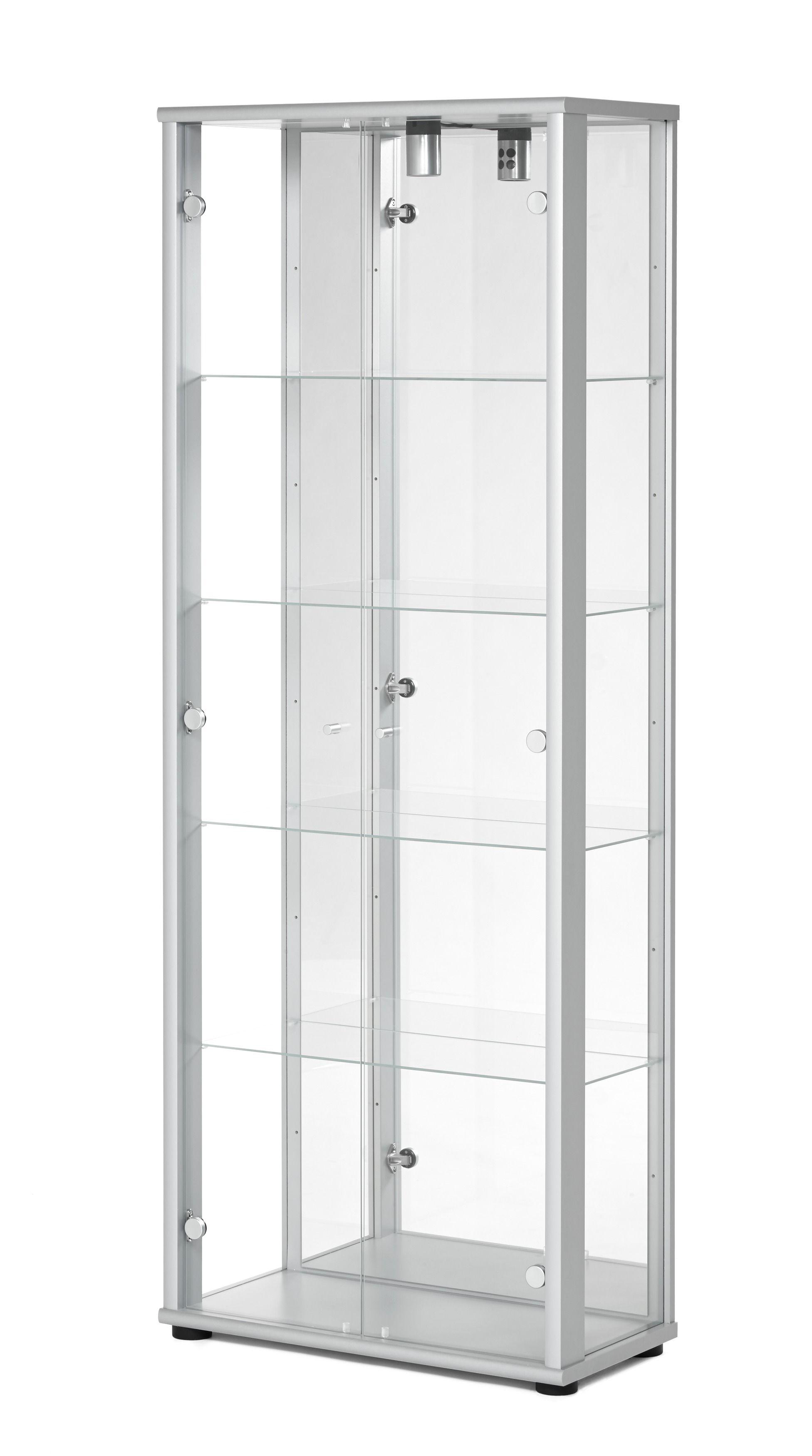 Toppen Vitrinskåp med stora glasytor och en spegel. Belysning ingår. | My PN-37