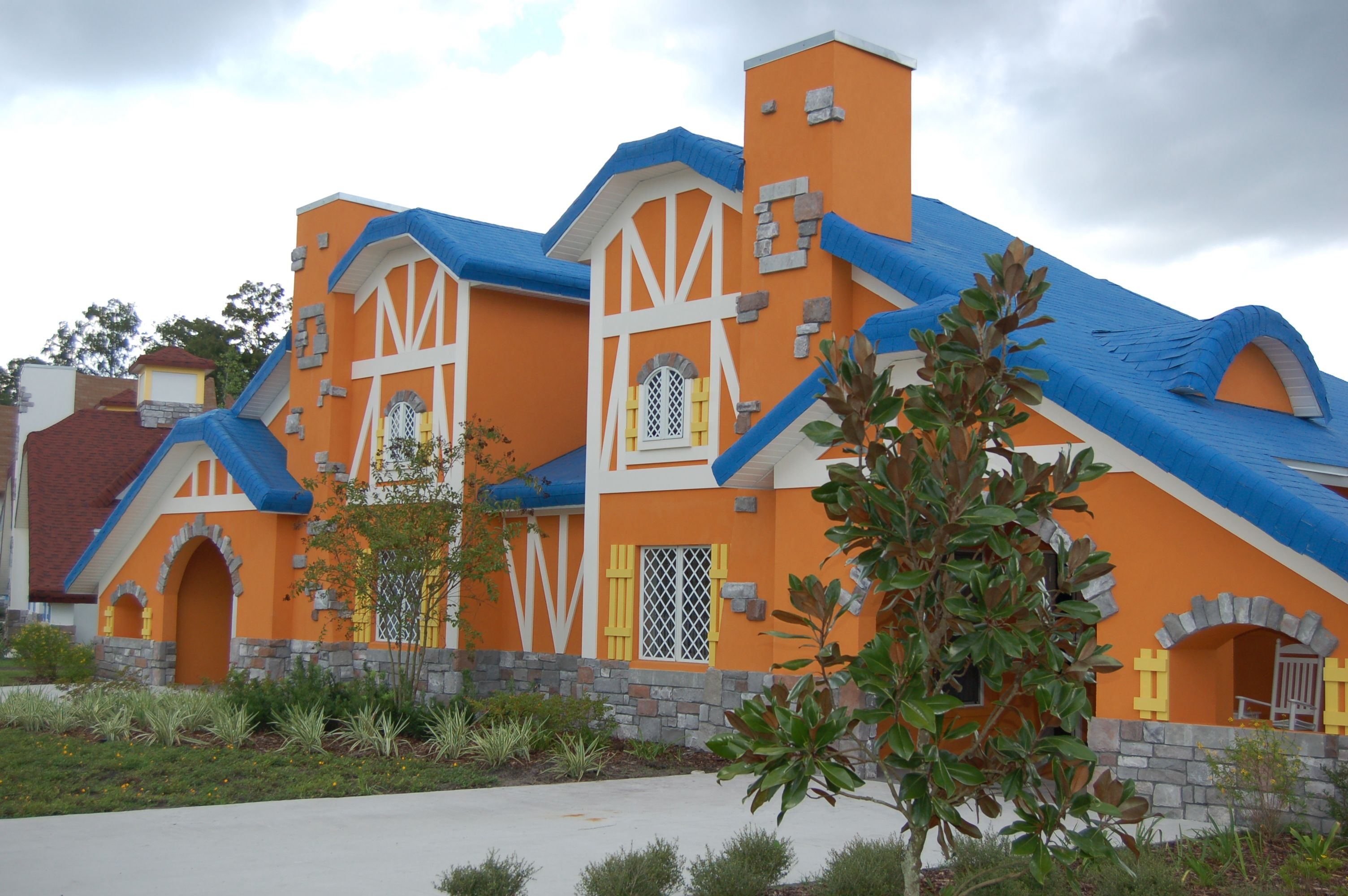 #GKTWVillage families stay in one of our 144 whimsical villas.