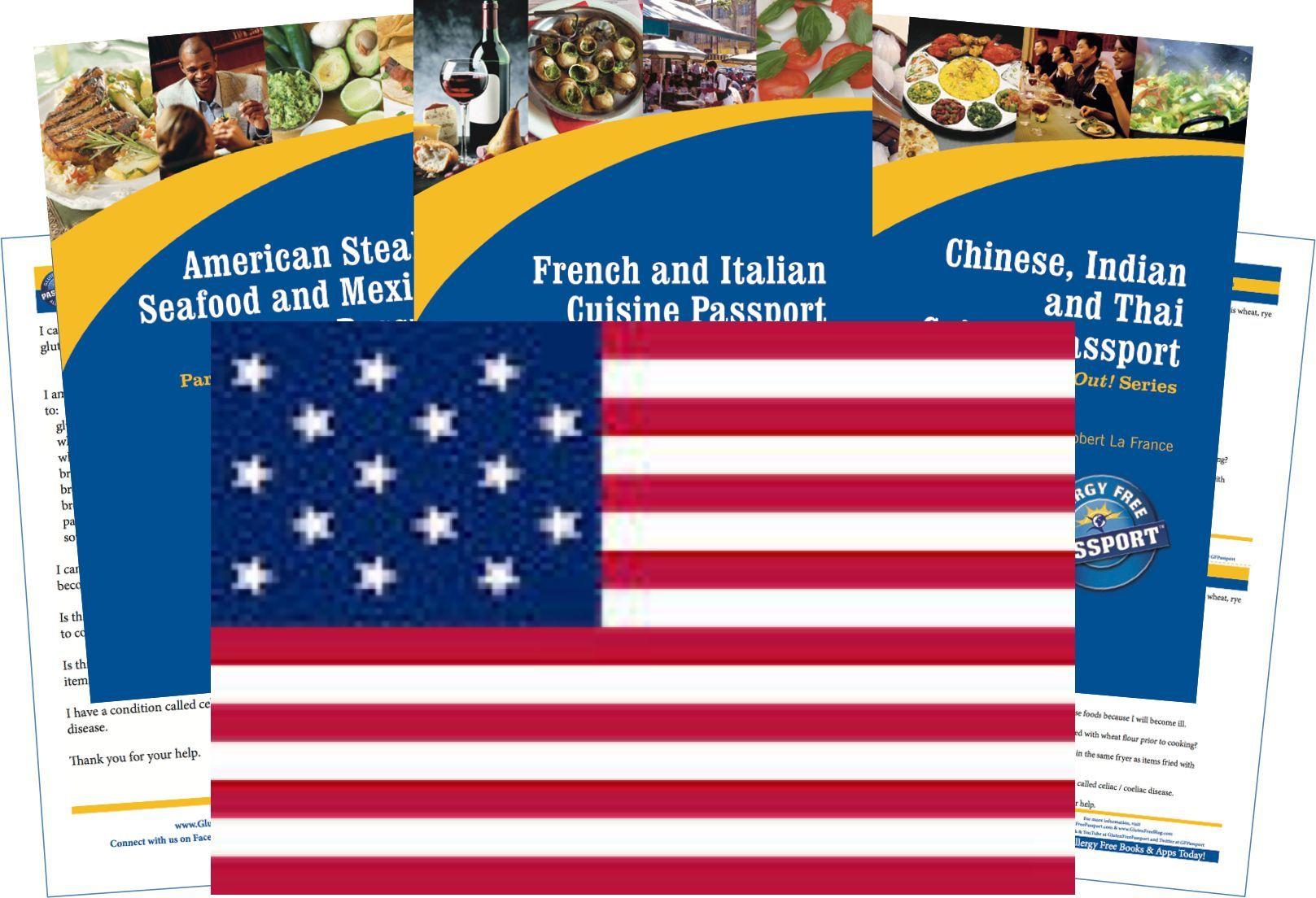 USA Gluten Free Travel Kit (PAPER)