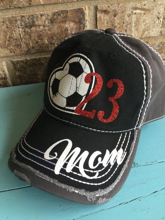 87cd72a2c8a Customized Soccer Mom Cap
