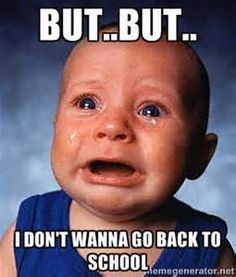 Back To School Monday Meme