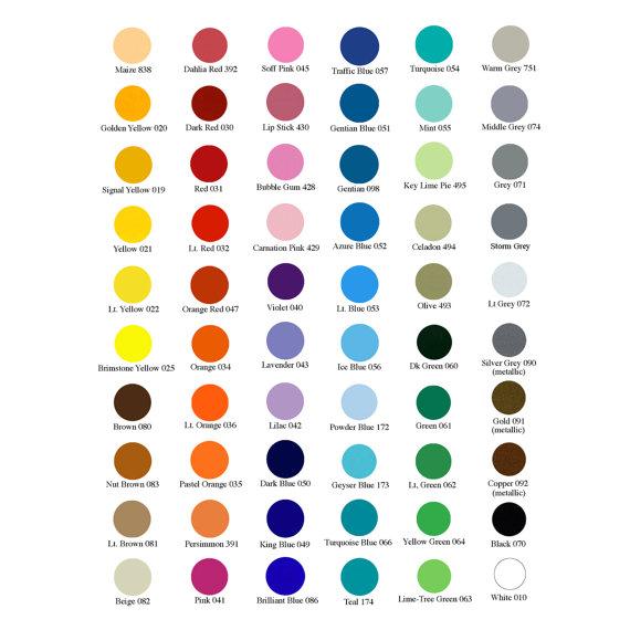 Large Vinyl Monogram Wall Decal Custom Color Monogram Etsy