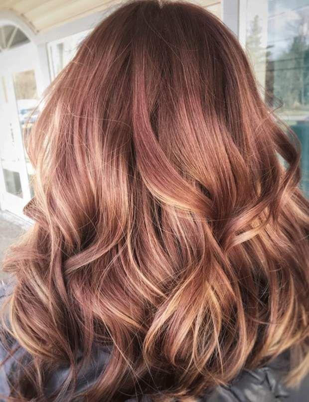 Le Blond Fraise Honey Hair Hair Highlights Long Hair Styles