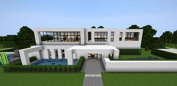 huge minecraft houses huge mansion with a total of 3 floors excluding the rooftop - Huge Modern Houses