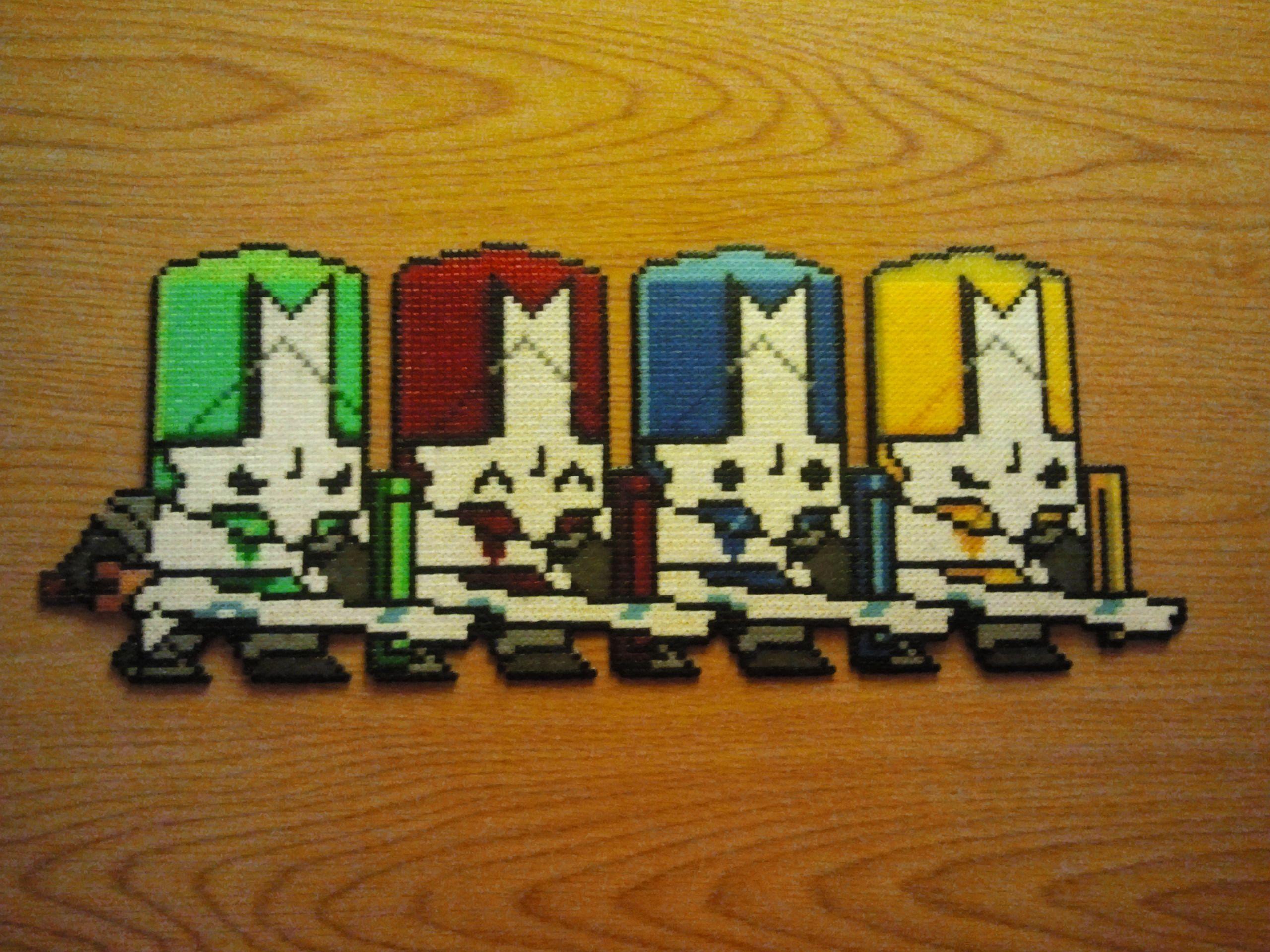 Pin On Castle Crashers