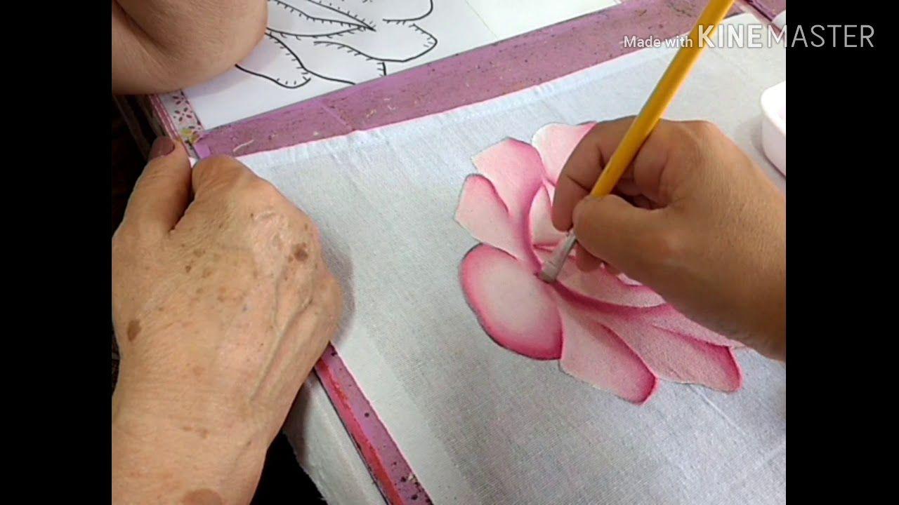 Pin Em Pintura Em Tecido
