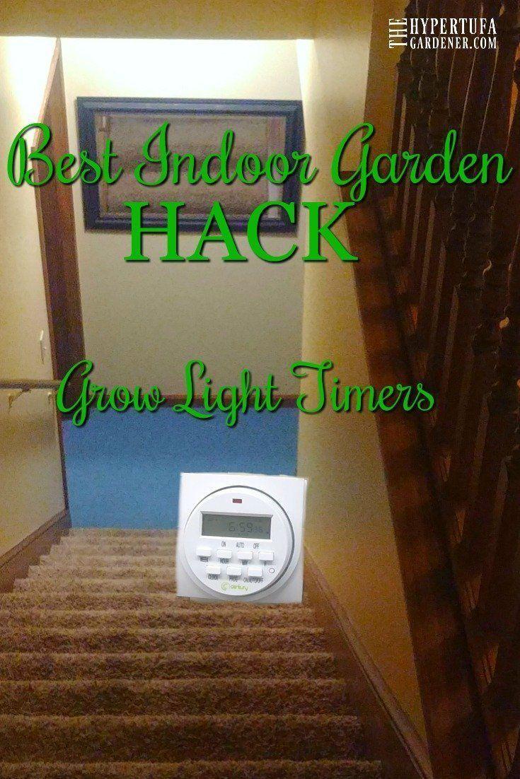 Best indoor gardening hack grow light timers the
