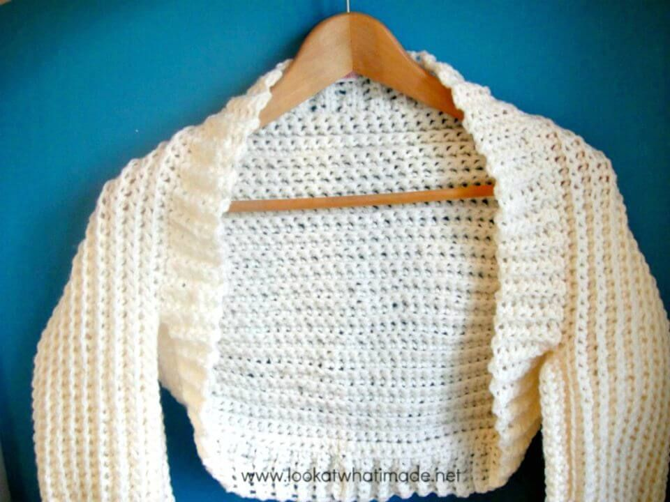 Crochet Shrug Patterns - 20 Free Unique Designs
