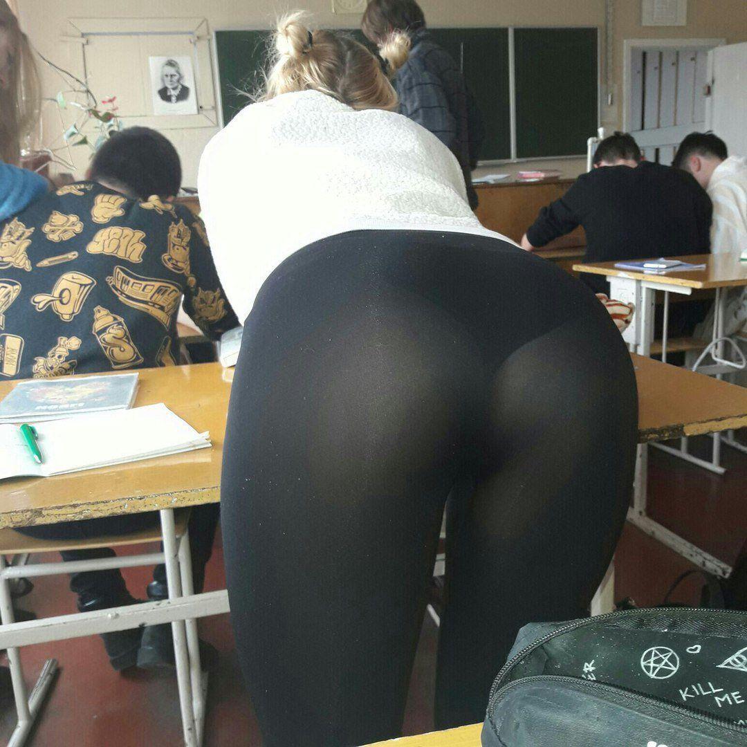 Big asses in public