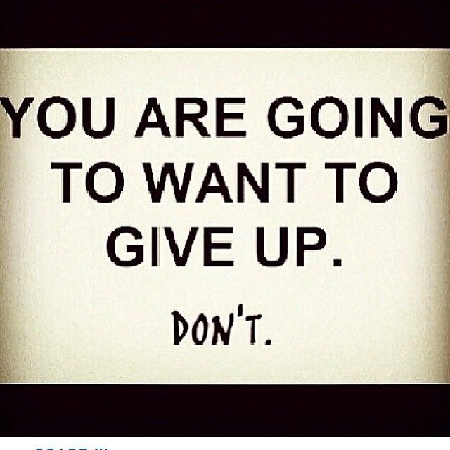 Don't!