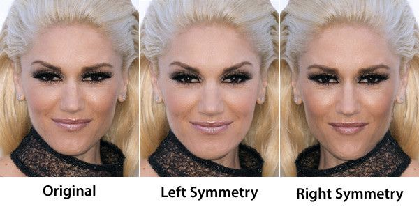 Face Symmetry Of Celebrities Face Symmetry Unique Beauty Products Beauty Rules