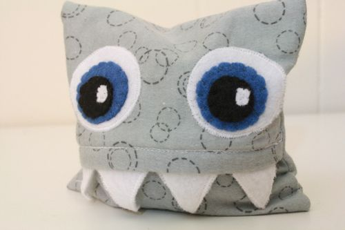 Rice sock monster, but would make a really cute tooth pillow