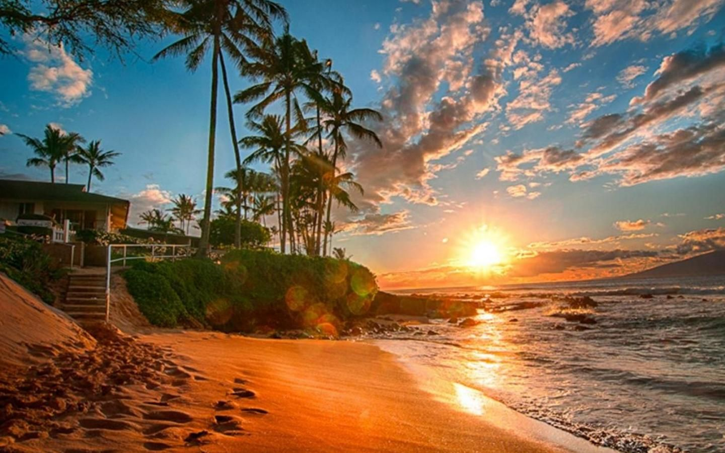 Hawaii Wallpapers High Quality | Sunsets hawaii, Hawaii ocean, Hawaii  beaches