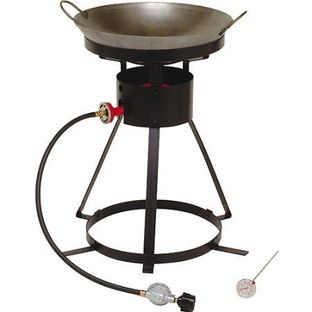 Patio Garden Wok Outdoor Cooking Charcoal Grill