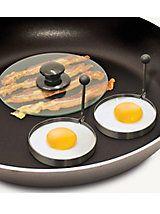 Bacon Press & Egg Rings | Haband