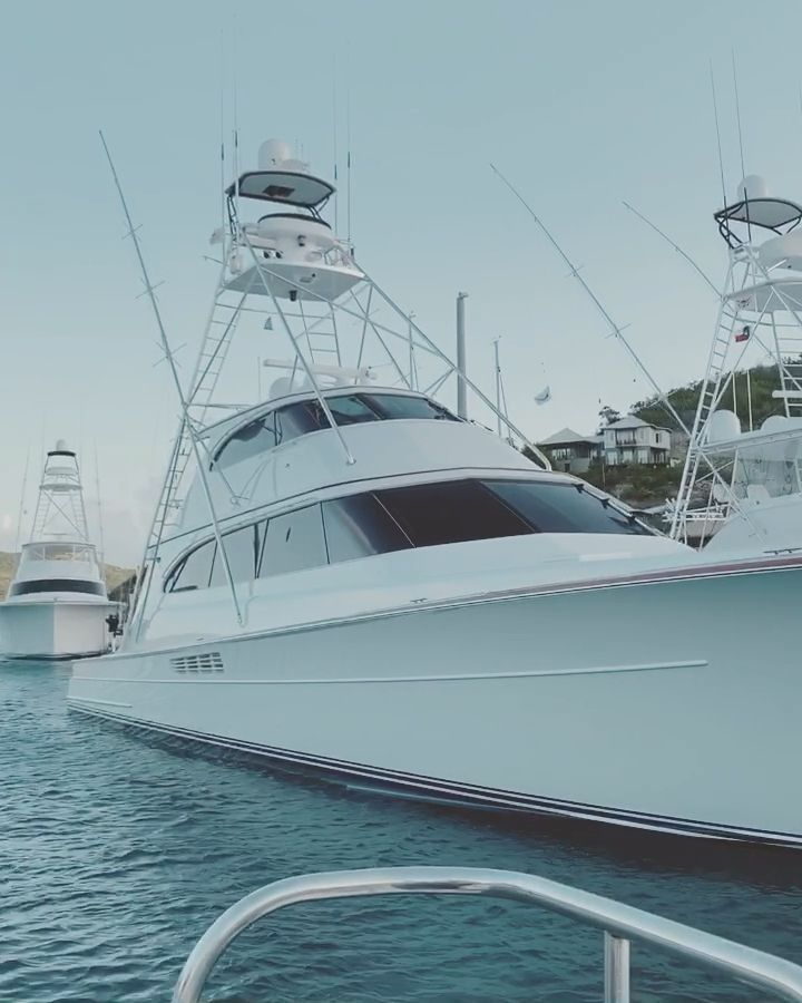 Fishing tournament (Virgin Islands) -  Scrub island invitational marlin fishing tournament in the B