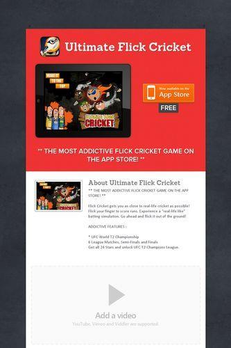 Ultimate Flick Cricket | Games | Cricket, Games