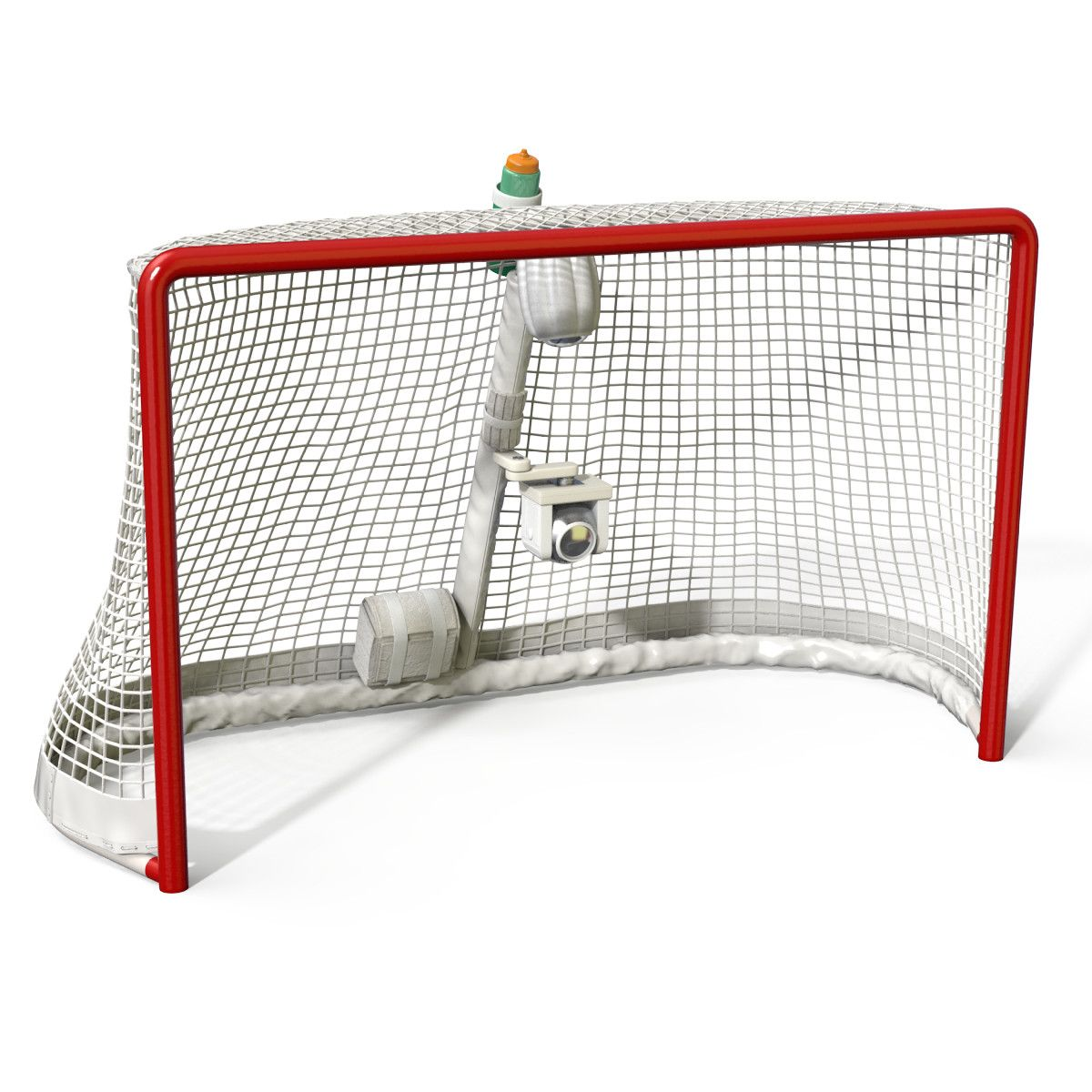Max Hockey Goal 3d Model Hockey Goal Goals Model