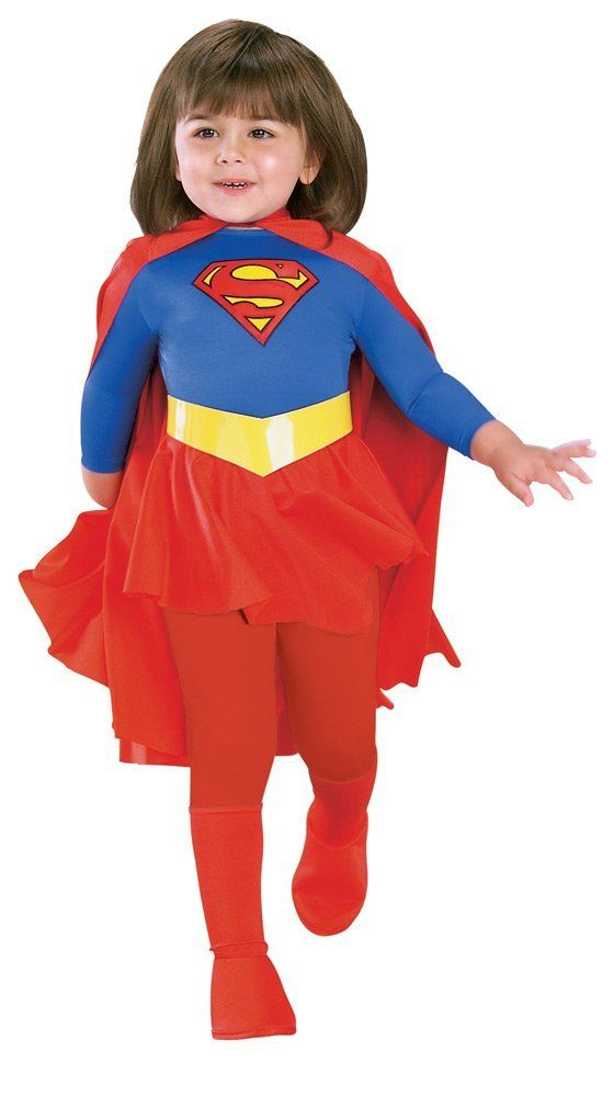 Rubies Supergirl Toddler Costume - Free Shipping  sc 1 st  Pinterest & Rubies Supergirl Toddler Costume - Free Shipping   If I Had Kids ...