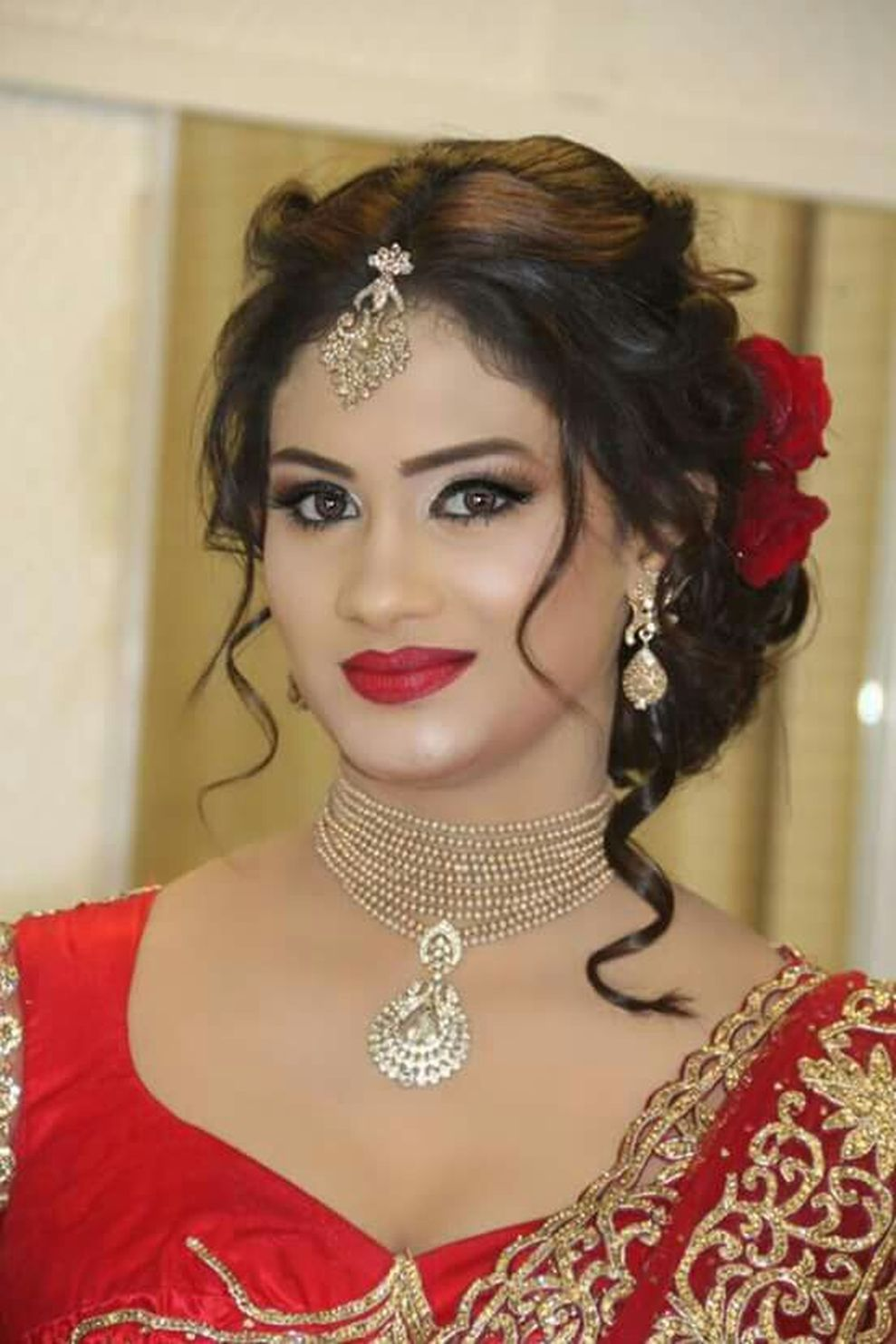 48 stylish wedding hairstyle ideas for indian bride | blouse