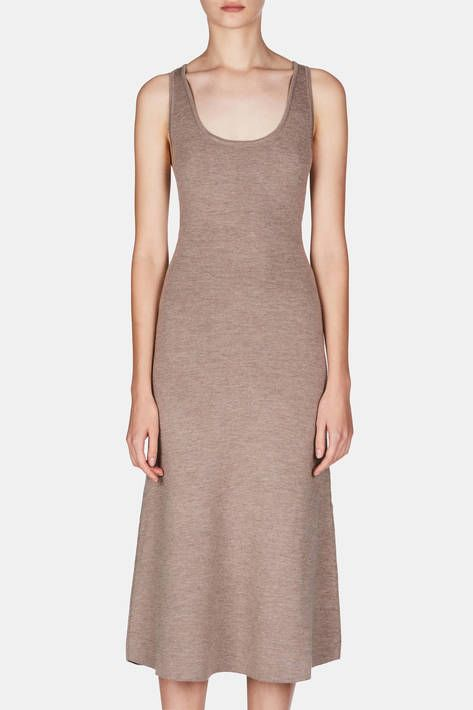 Gabriela Hearst — Emily Dress - Oatmeal