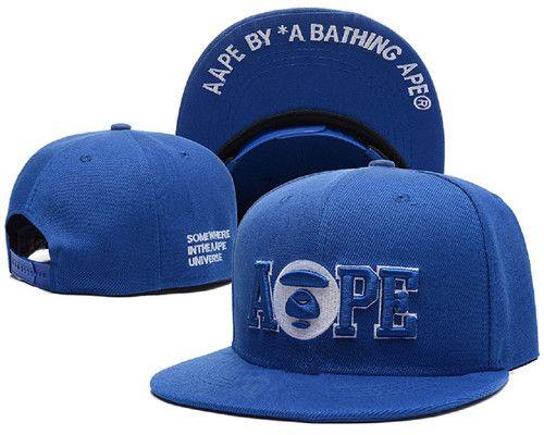 305a1c85e4e Aape Men s Snapback Flatbrim Cap Street Brands