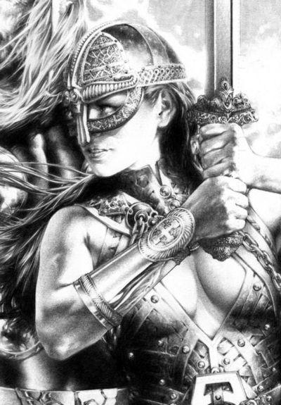 Sif Lady Sif Geeked Out Mythology Vikings Fantasy Art